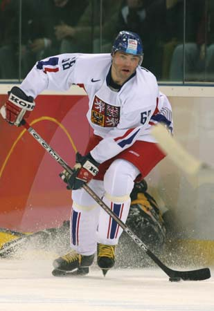 JAROMIR JAGR was selected twice by the Czechoslovakia national team, for the 1990 IIHF World Championships and the 1991 Canada Cup. Including his totals with the former Czechoslovakia, Jagr has appeared at 12 major international events (73 ga, 25 go 38 as, 63 pts) in his career.