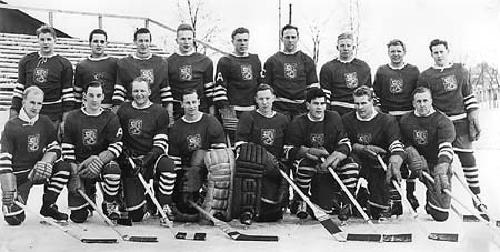 1952 Winter Olympic Games - Oslo, Norway --- FINLAND national team.