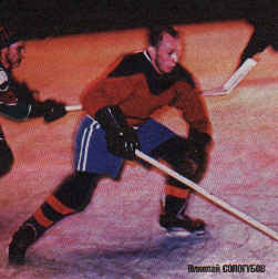An artist's rendition of USSR defenseman NIKOLAI SOLOGUBOV