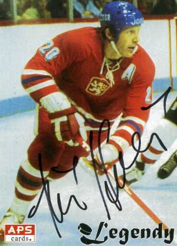 JIRI HOLIK appeared at no fewer than 17 major international tournaments for Czechoslovakia over the course of his career. Holik skated a total of 319 games, a national record, for Czechoslovakia in all international competitions.
