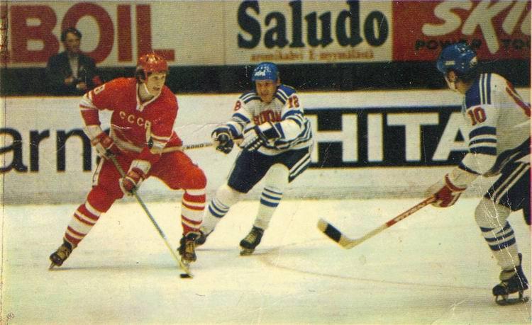 CCCP 1986 World Championships Soviet Union Ice Hockey Team Hoodie Pullover
